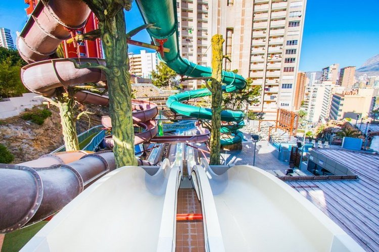 Slides Magic Aqua Experience™ Hôtel Magic Rock Gardens Benidorm