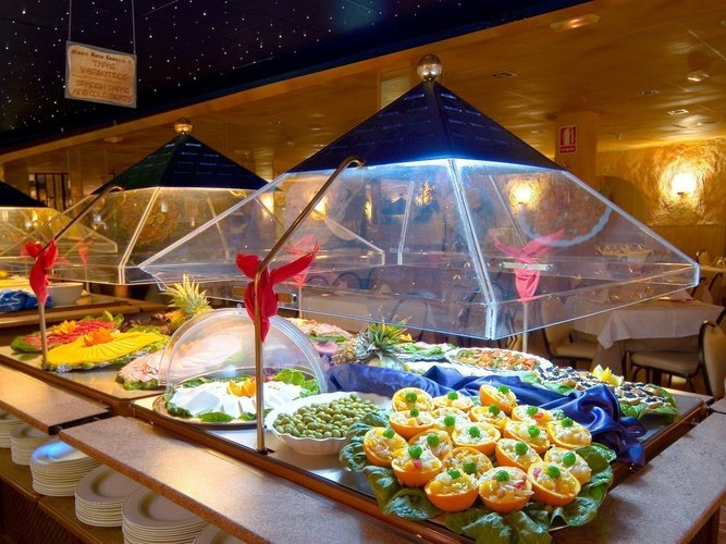 Restaurant-buffet Hôtel Magic Rock Gardens Benidorm