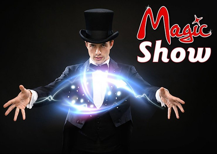 Magic show hôtel magic rock gardens benidorm