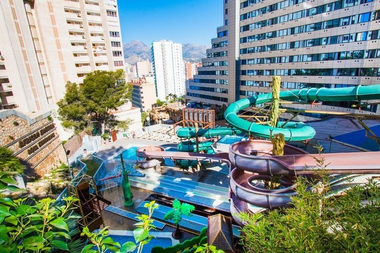 Piscine Hôtel Magic Rock Gardens Benidorm