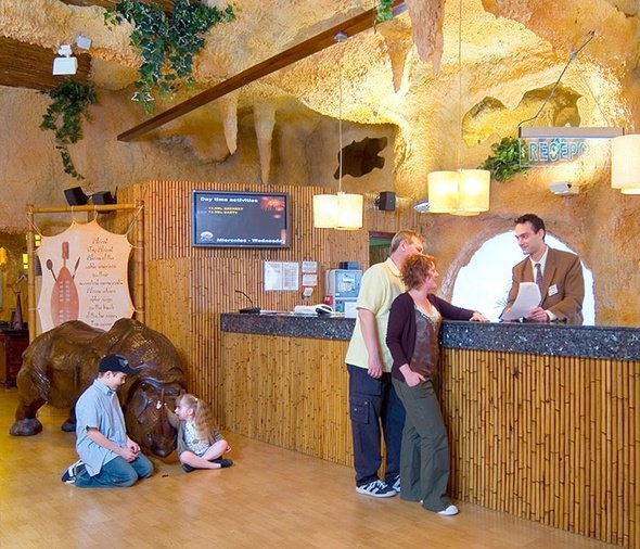 Reception 24h/24 hôtel magic rock gardens benidorm